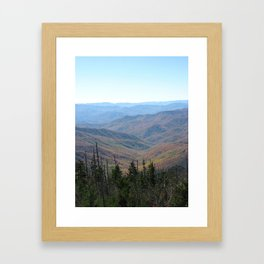 A Person Could Get Lost.... Framed Art Print