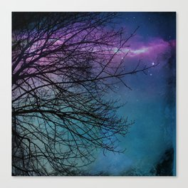 Glow Of The Sky Canvas Print