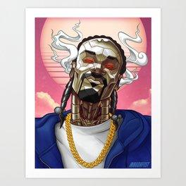 Snoop Bot Art Print