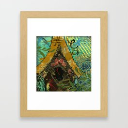 Bluebird Framed Art Print