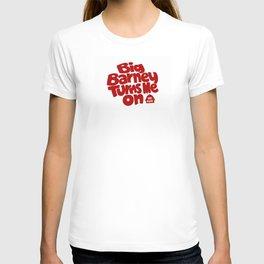 Big Barney Turns Me On T-shirt