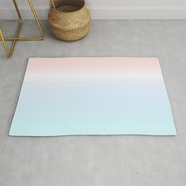 cotton candy ombre Rug