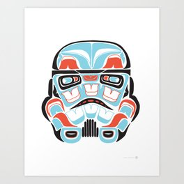 Skull Warrior - Alliance Is Rebellion - Stormtrooper,  Art Print