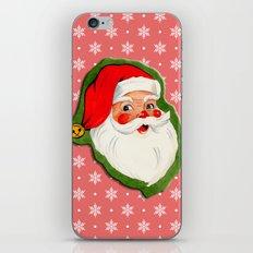 Santa_Vintage iPhone & iPod Skin