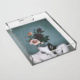 inner garden 3 Acrylic Tray