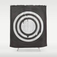 focus Shower Curtains featuring Focus by Eduardo Constantino