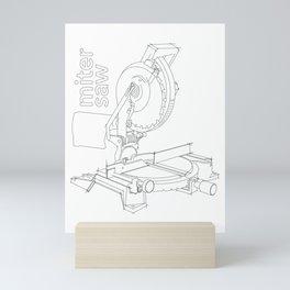 Miter Saw Mini Art Print
