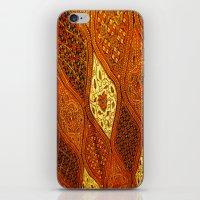 batik iPhone & iPod Skins featuring batik  by customgift