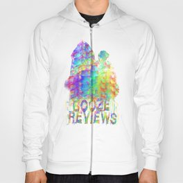Booze Reviews Rainbow Smoke Hoody