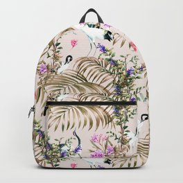 Crane in paradise Backpack