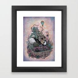 Land of the Sleeping Giant Framed Art Print