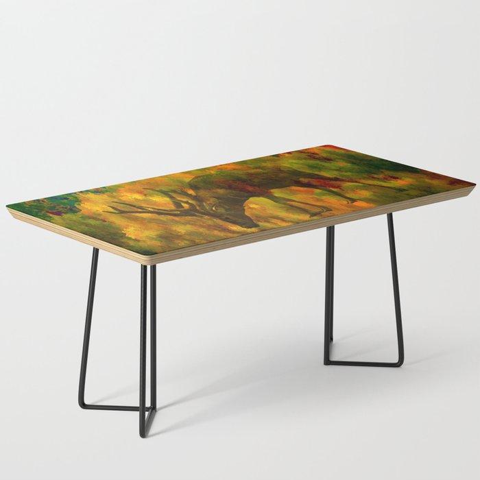 Camouflage Deer Coffee Table