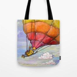 Just Us Clouds Here Tote Bag