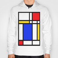 mondrian Hoodies featuring Mondrian by The Wellington Boot