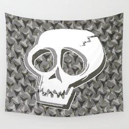 Cracked Skull Wall Tapestry