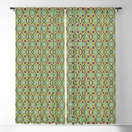 Mosaic 14 Indian Summer collection Blackout Curtain