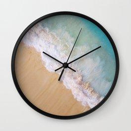 Dream Beach Wave II Wall Clock