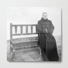 Father Superior of Mission Santa Barbara 1906 Metal Print