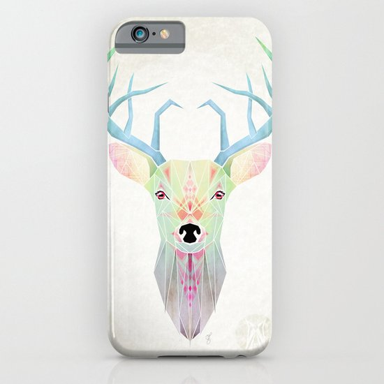 white deer iPhone & iPod Case
