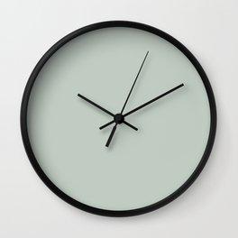 Pale Aqua Wall Clock