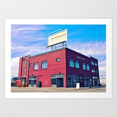 Historic Newbert building Art Print