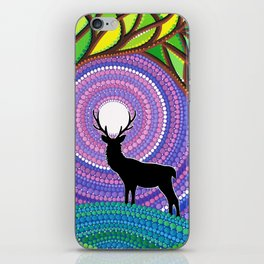 A Silent Visitor iPhone Skin