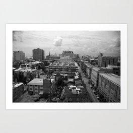 Black & White Baltimore Art Print