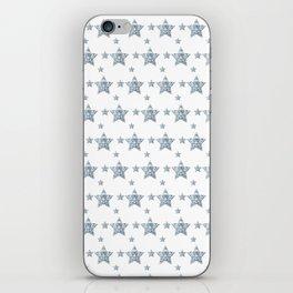 Silver Stars iPhone Skin