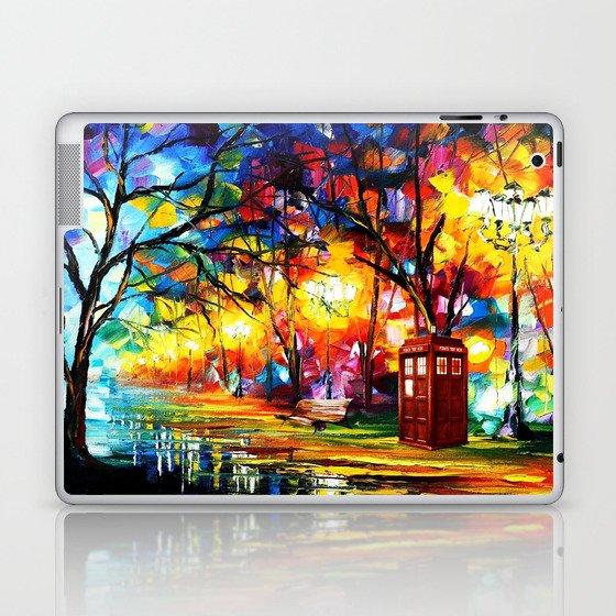 Tardis Dr Who Laptop & iPad Skin