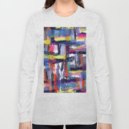 Abstract background 303 Long Sleeve T-shirt