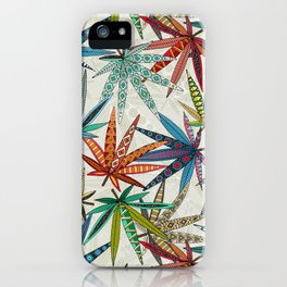 boho weed light iPhone Case