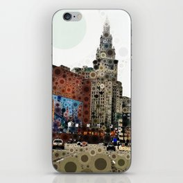 Downtown Cleveland iPhone Skin