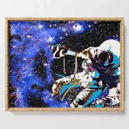 Astronaut Serving Tray