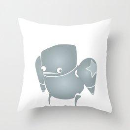 minima - slowbot 001 Throw Pillow