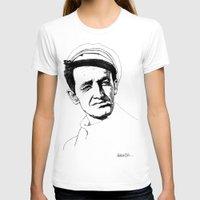 springsteen T-shirts featuring Woody Guthrie by Paul Nelson-Esch Art