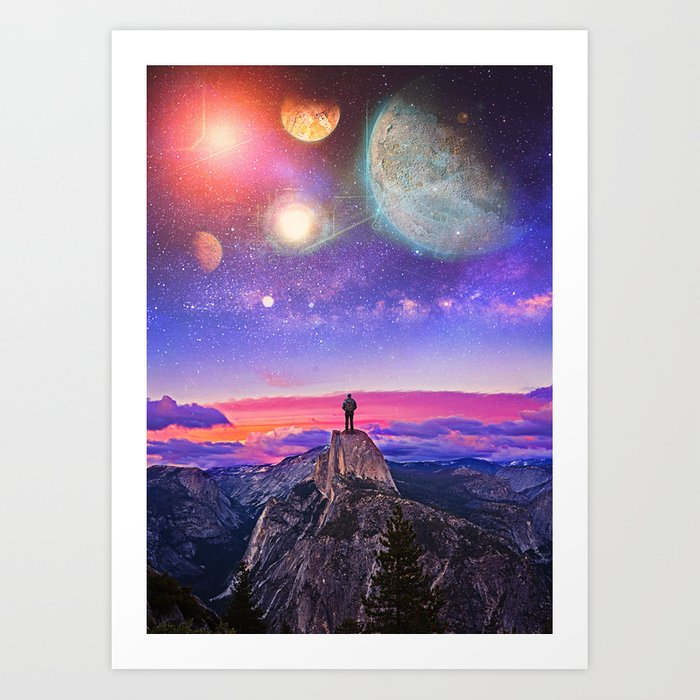 Whatever's Out There Art Print