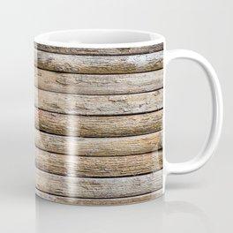 Wood Effects Raw Wood Log Cabin Lodge Rustic Coffee Mug