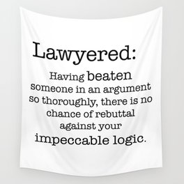 Lawyered Wall Tapestry