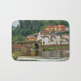 Stone Bridge Asturias Spain Bath Mat