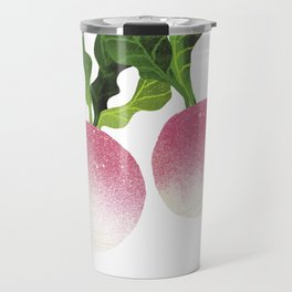 Turnip Illustration Travel Mug