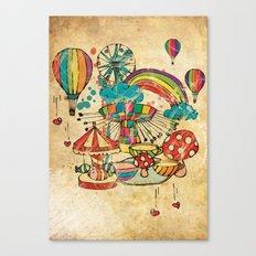 Funfair! Canvas Print