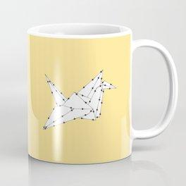 Origami Crane Coffee Mug