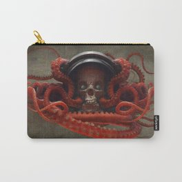 Tentacles & Skull Color Carry-All Pouch