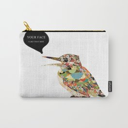 Provocative Bird Carry-All Pouch