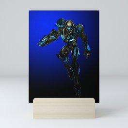 Dark Samus Mini Art Print