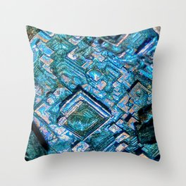 Bismuth Throw Pillow