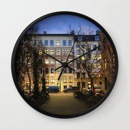 streets of Vesterbro pt.1 Wall Clock