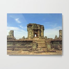 Angkor, Cambodia Metal Print