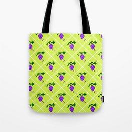 grape pattern Tote Bag
