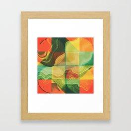 Abstract artwork Framed Art Print
